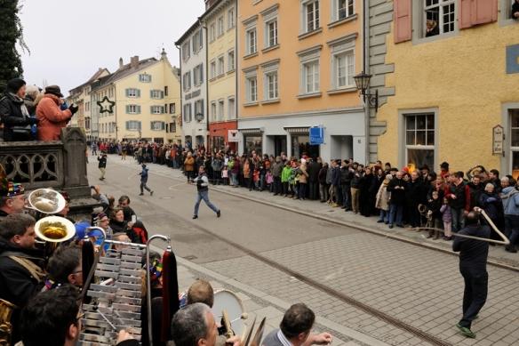 """6 januari fasnet in Überlingen: het oude wordt """"weggeknald""""- een nieuw begin..."""