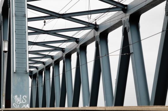 Spoorbrug Deventer Railway Bridge Deventer