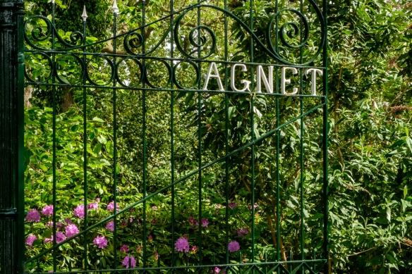 toegangshek Agnetapark, entrance gate Agnetapark